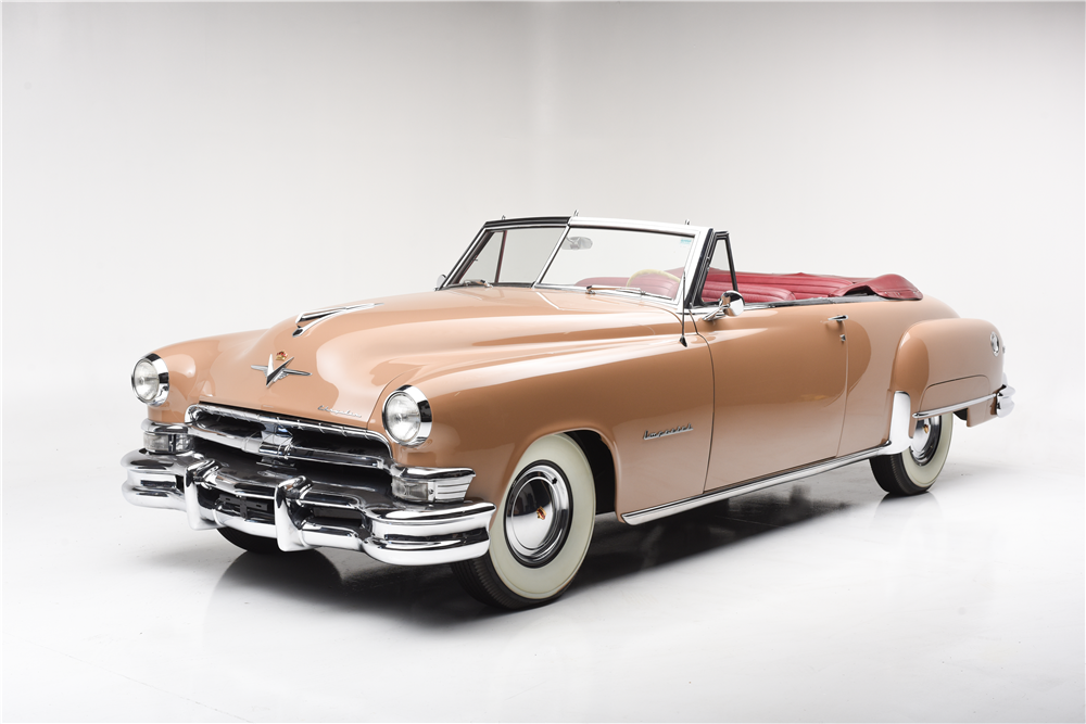 2017 Chrysler Imperial Price >> 1951 CHRYSLER IMPERIAL CONVERTIBLE - 202266