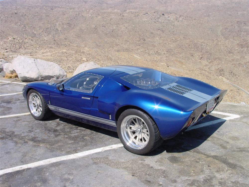 1966 FORD GT40 RE-CREATION COUPE - Interior - 20232