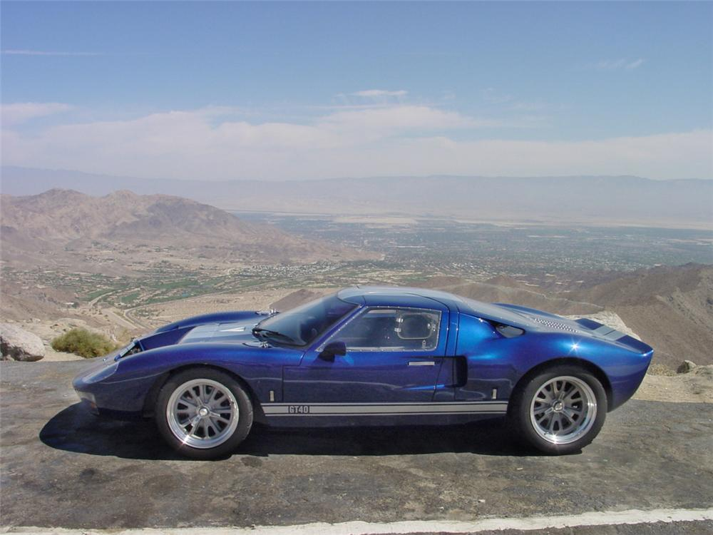 1966 FORD GT40 RE-CREATION COUPE - Side Profile - 20232