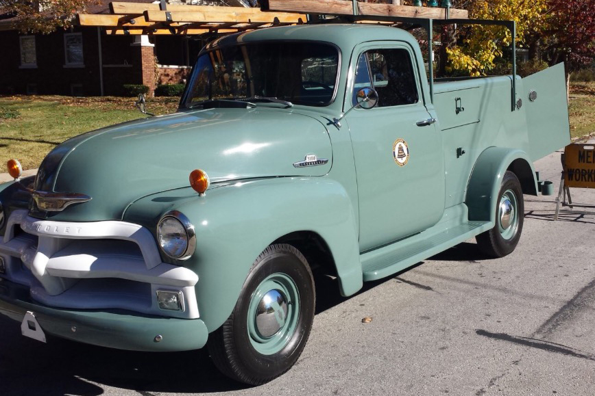 1955 CHEVROLET 3100 UTILITY BED PICKUP
