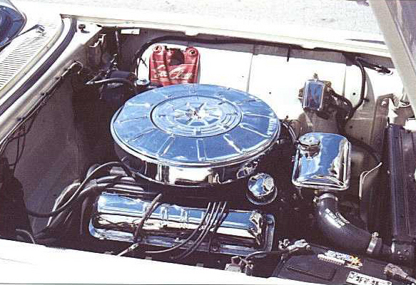 1959 FORD THUNDERBIRD CONVERTIBLE - Engine - 20234