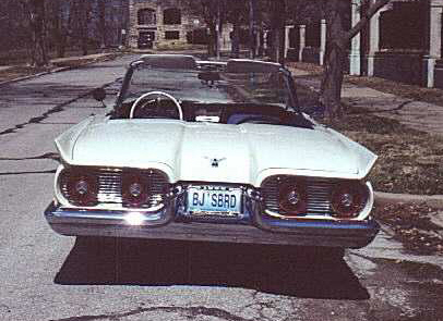 1959 FORD THUNDERBIRD CONVERTIBLE - Rear 3/4 - 20234