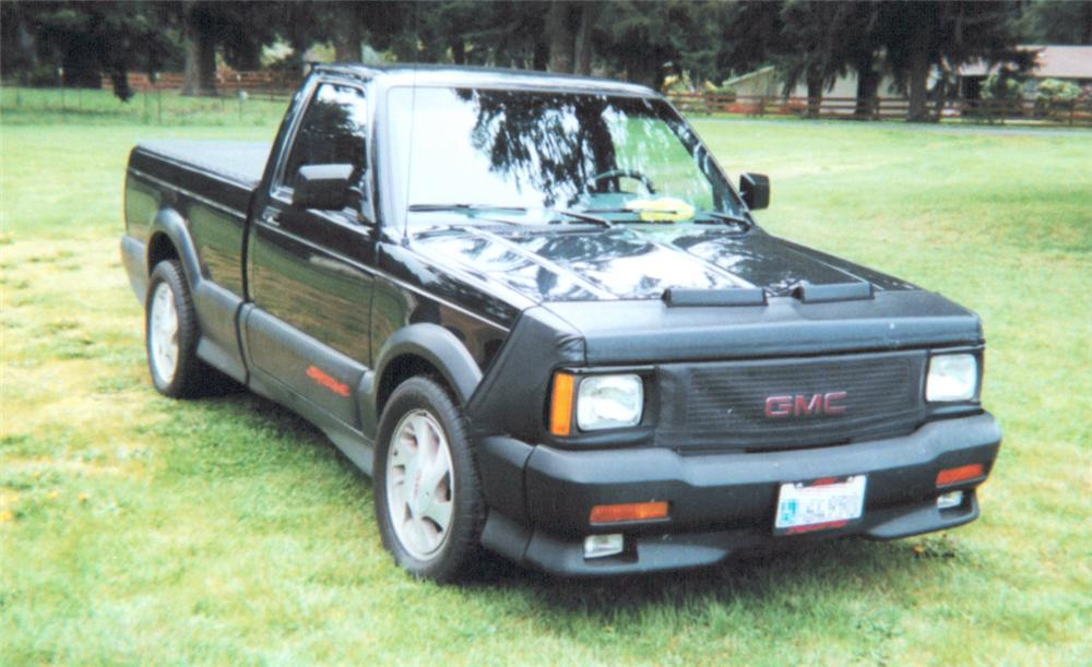 1991 GMC SYCLONE PICKUP - Front 3/4 - 20248