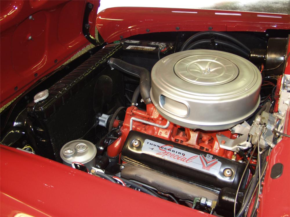 1957 FORD FAIRLANE 500 CONVERTIBLE - Engine - 20249
