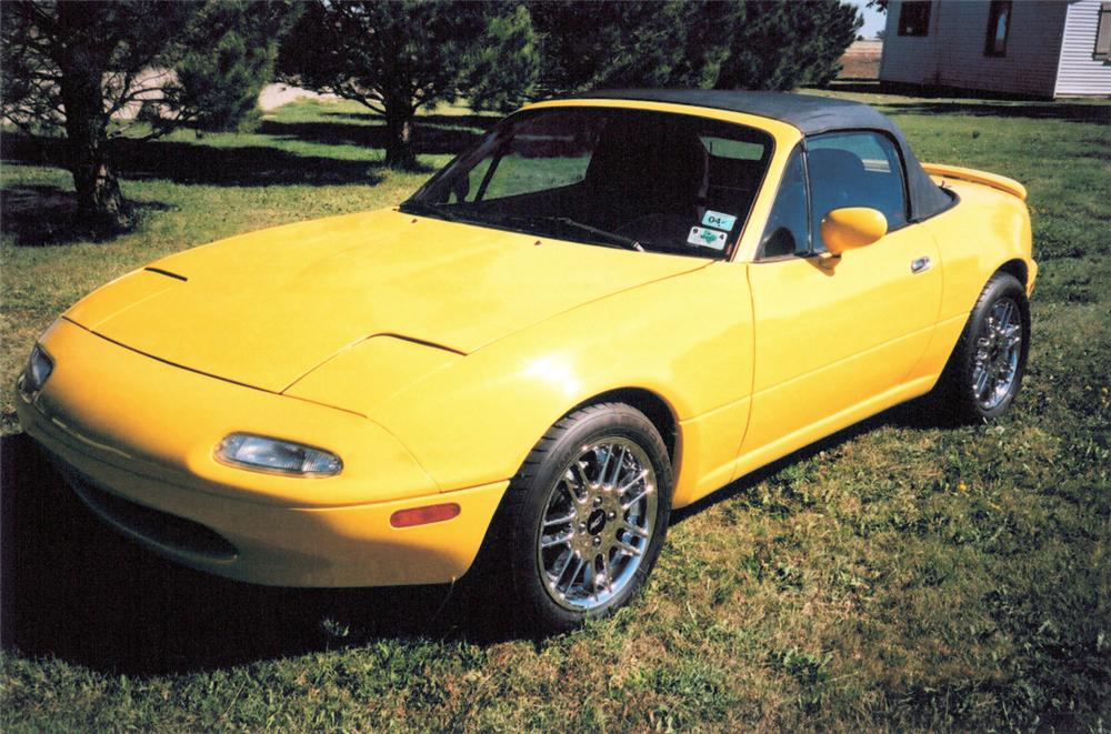 1991 MAZDA MIATA FORD POWERED CUSTOM ROADSTER - Side Profile - 20250
