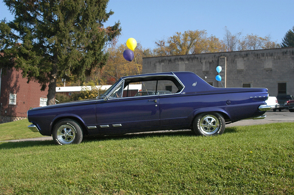 1965 DODGE DART GT 2 DOOR HARDTOP - Interior - 20251