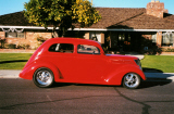 1937 FORD TUDOR SLANT BACK STREET ROD -  - 20252