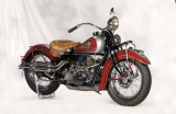 1936 INDIAN 4 CYLINDER MOTORCYCLE -  - 20261
