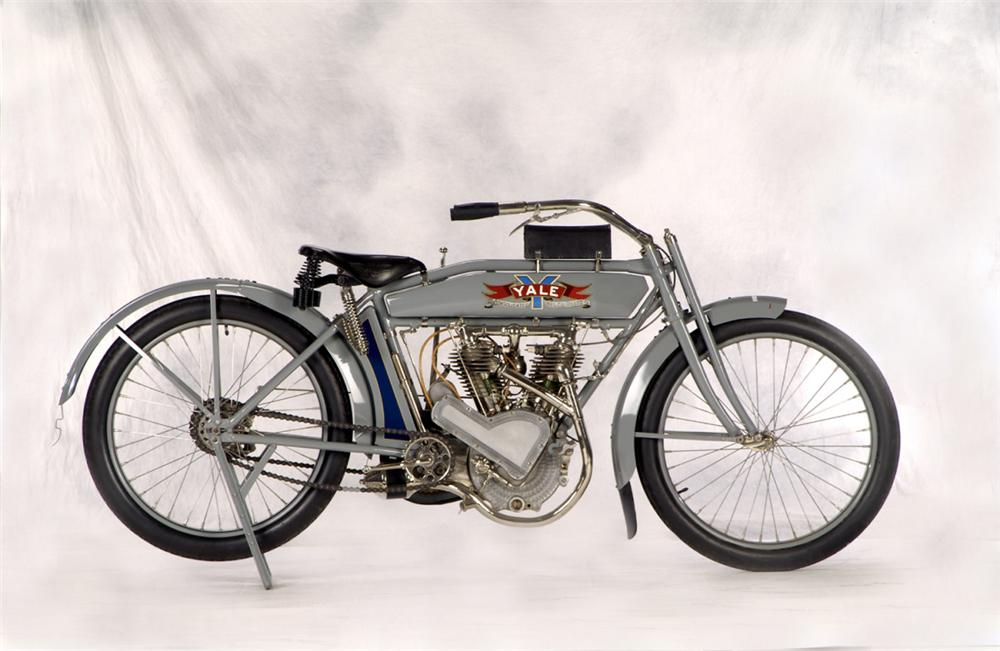 1914 YALE MOTORCYCLE - Side Profile - 20266