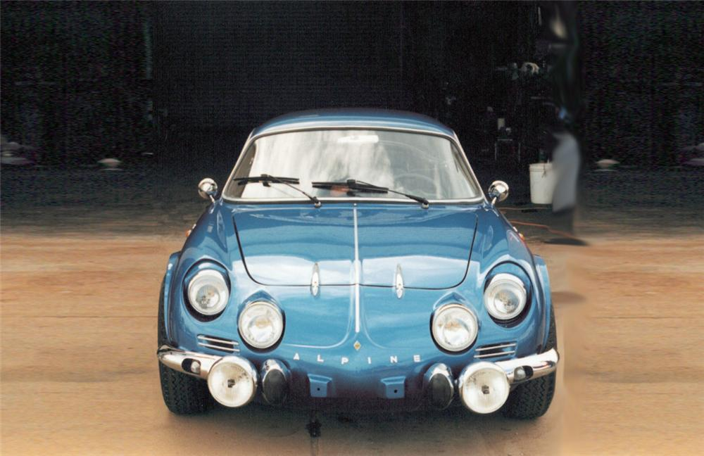 1964 RENAULT A110 COUPE - Side Profile - 20278