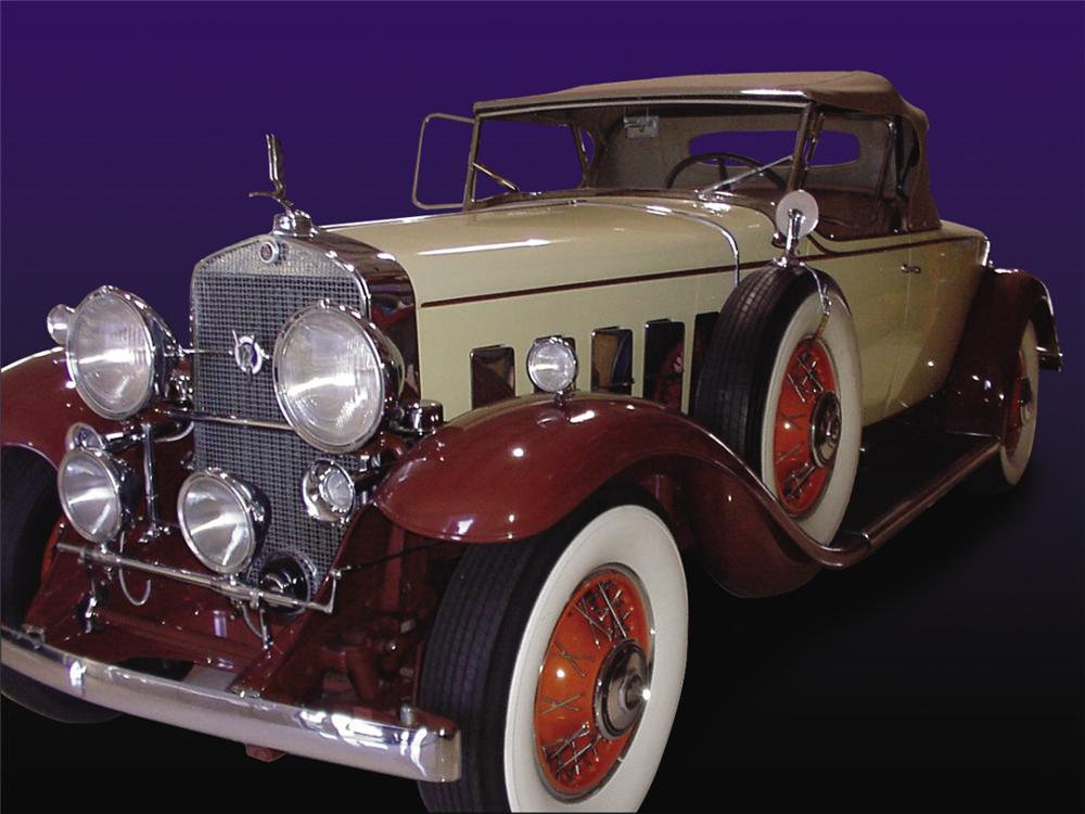 1931 CADILLAC ROADSTER - Front 3/4 - 20289