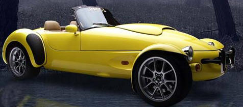1999 PANOZ AIV ROADSTER - Front 3/4 - 20290