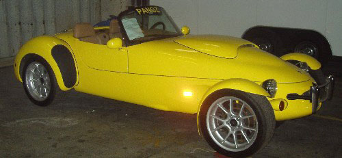 1999 PANOZ AIV ROADSTER - Side Profile - 20290