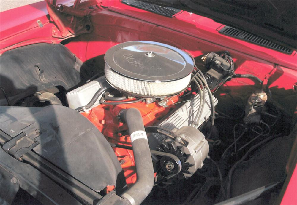 1967 CHEVROLET CAMARO RS COUPE - Engine - 20292