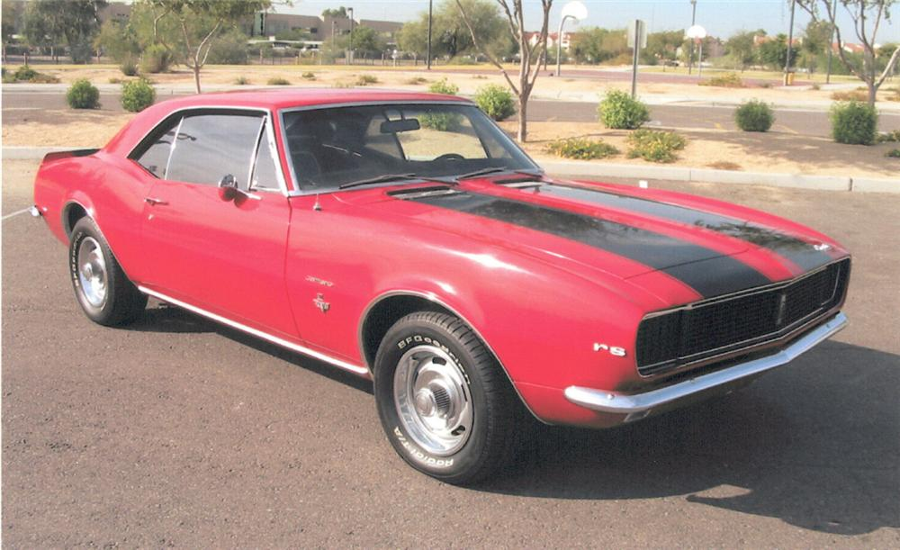 1967 CHEVROLET CAMARO RS COUPE - Front 3/4 - 20292