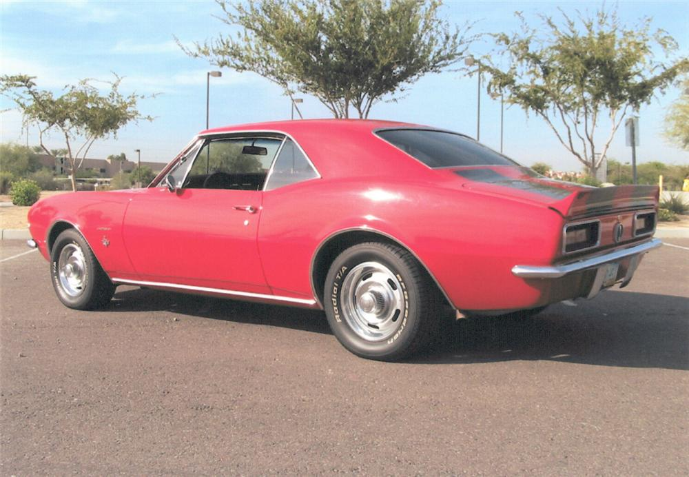 1967 CHEVROLET CAMARO RS COUPE - Side Profile - 20292