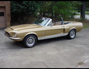 1968 SHELBY GT500 CONVERTIBLE -  - 20297