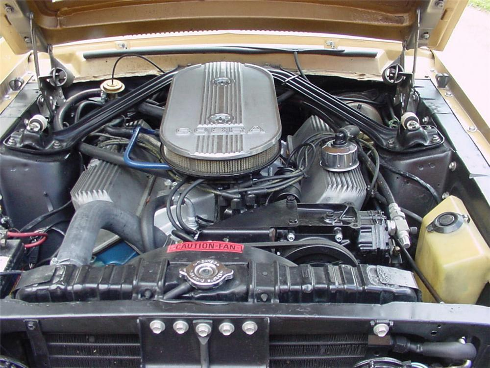 1968 SHELBY GT500 CONVERTIBLE - Engine - 20297