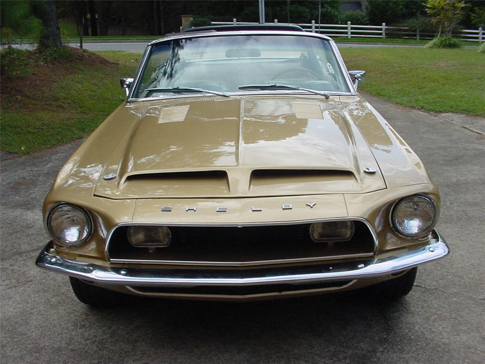 1968 SHELBY GT500 CONVERTIBLE - Side Profile - 20297