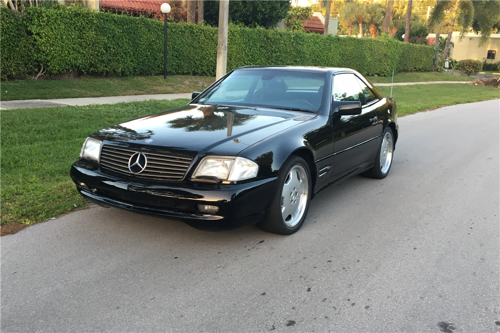 1997 mercedes benz sl500 convertible 202979