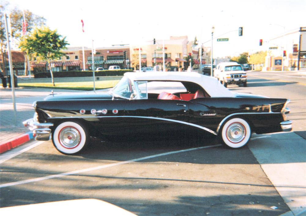 1955 BUICK CENTURY CONVERTIBLE - Side Profile - 20298