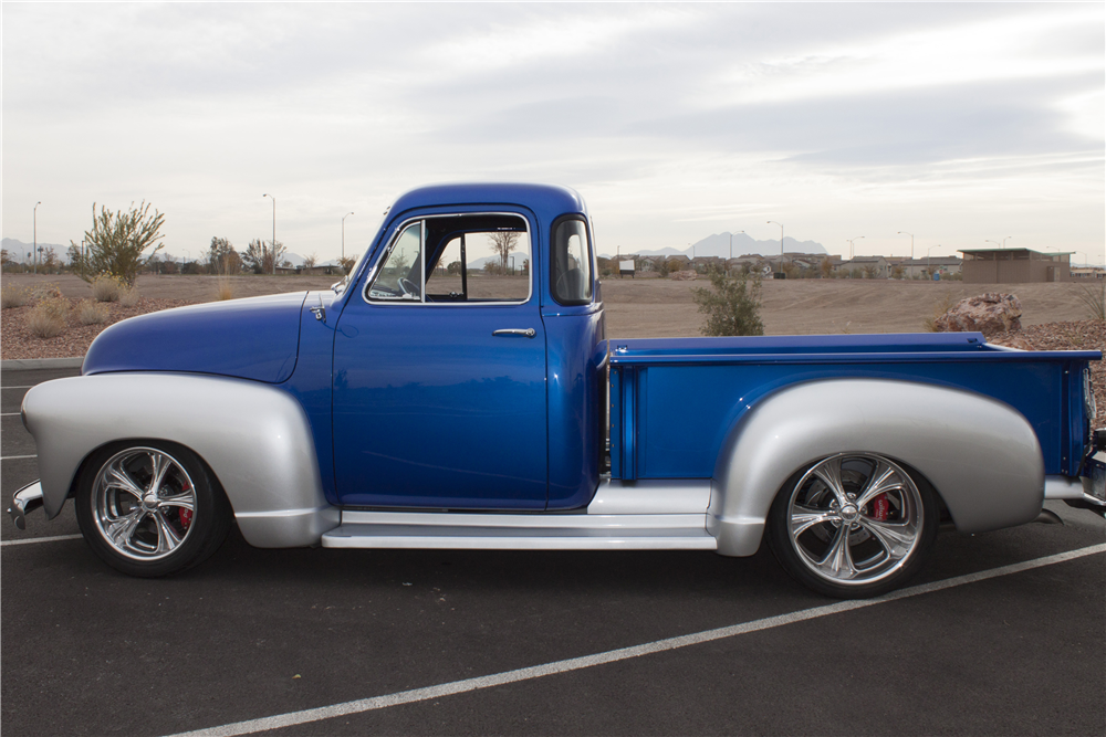 1952 chevrolet 5 window custom pickup 202993 for 1952 5 window chevy pickup for sale