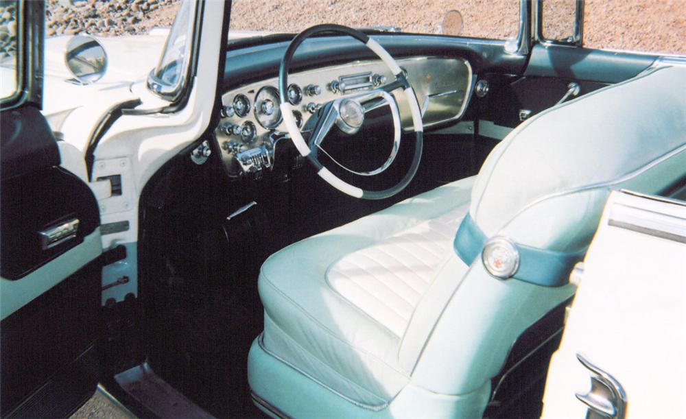 1955 PACKARD CARIBBEAN CONVERTIBLE - Interior - 20304