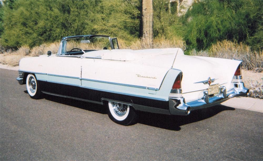 1955 PACKARD CARIBBEAN CONVERTIBLE - Rear 3/4 - 20304