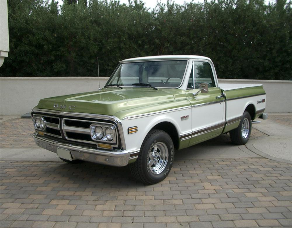 1972 GMC C-150 1/2 TON PICKUP - Engine - 20306