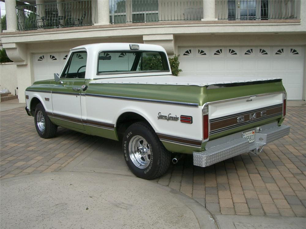 1972 GMC C-150 1/2 TON PICKUP - Rear 3/4 - 20306