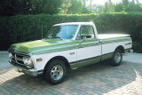 1972 GMC C-150 1/2 TON PICKUP -  - 20306