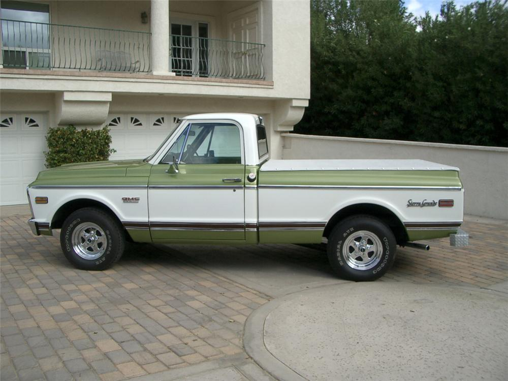 1972 GMC C-150 1/2 TON PICKUP - Side Profile - 20306