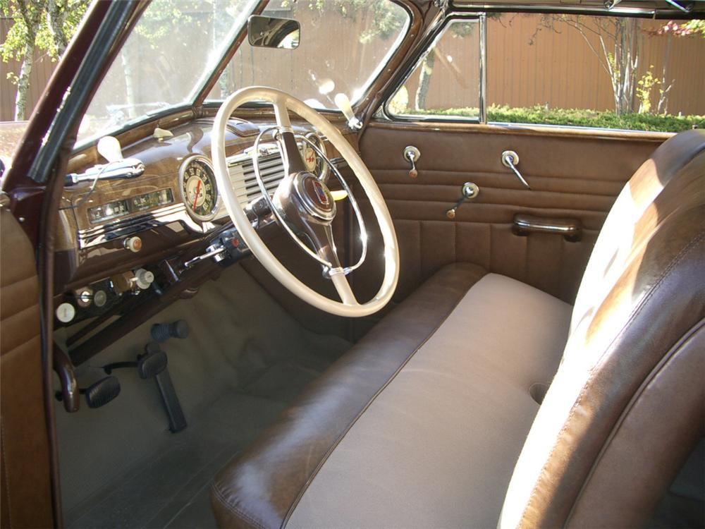 1947 CHEVROLET FLEETMASTER CONVERTIBLE - Interior - 20312