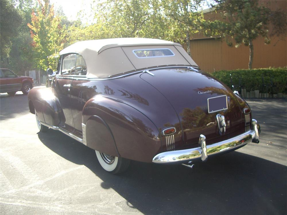 1947 CHEVROLET FLEETMASTER CONVERTIBLE - Rear 3/4 - 20312