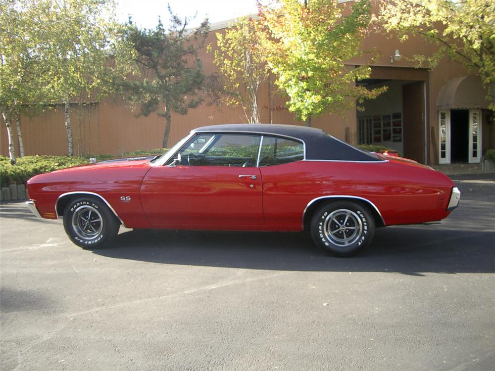 1970 CHEVROLET CHEVELLE SS COUPE - Side Profile - 20313