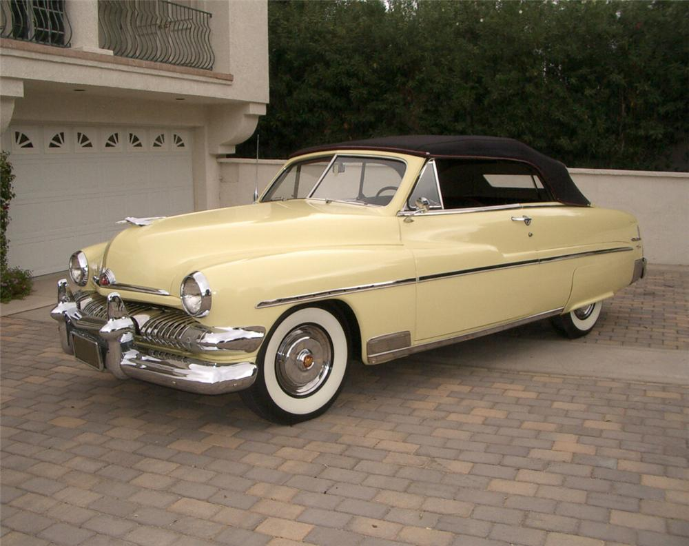 1951 MERCURY CONVERTIBLE - Front 3/4 - 20320