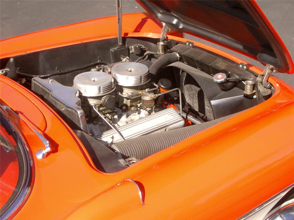 1957 CHEVROLET CORVETTE CONVERTIBLE - Engine - 20323