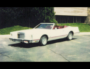 1978 LINCOLN CONTINENTAL MARK V TOPEZ CONVERTIBLE -  - 20326