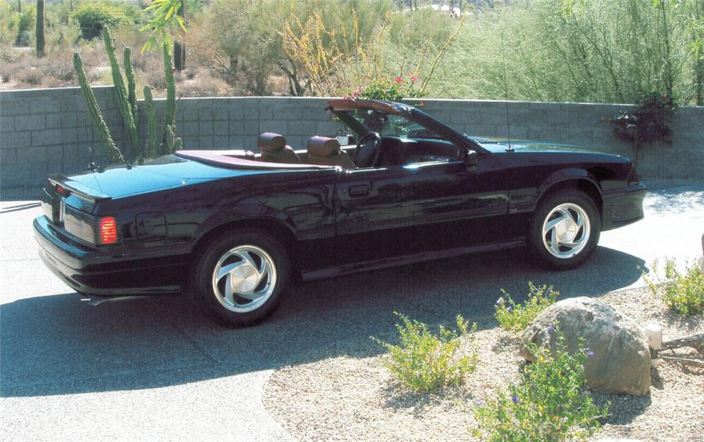 1990 FORD MUSTANG ASC MCLAREN CONVERTIBLE - Side Profile - 20331