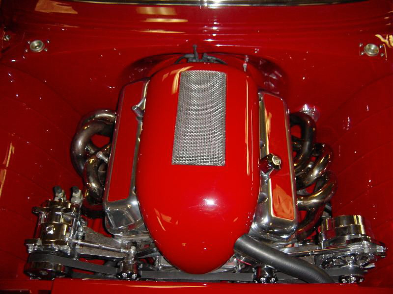 1955 CHEVROLET BEL AIR CUSTOM SPORT COUPE - Engine - 20348