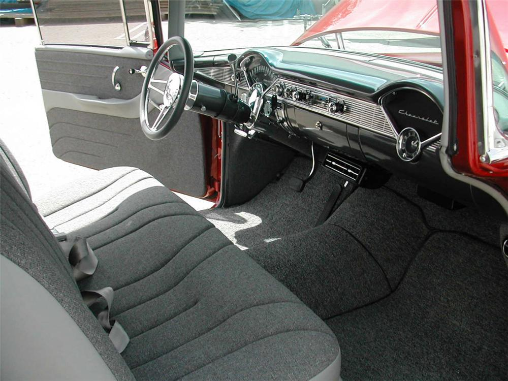1956 CHEVROLET 210 COUPE - Interior - 20360