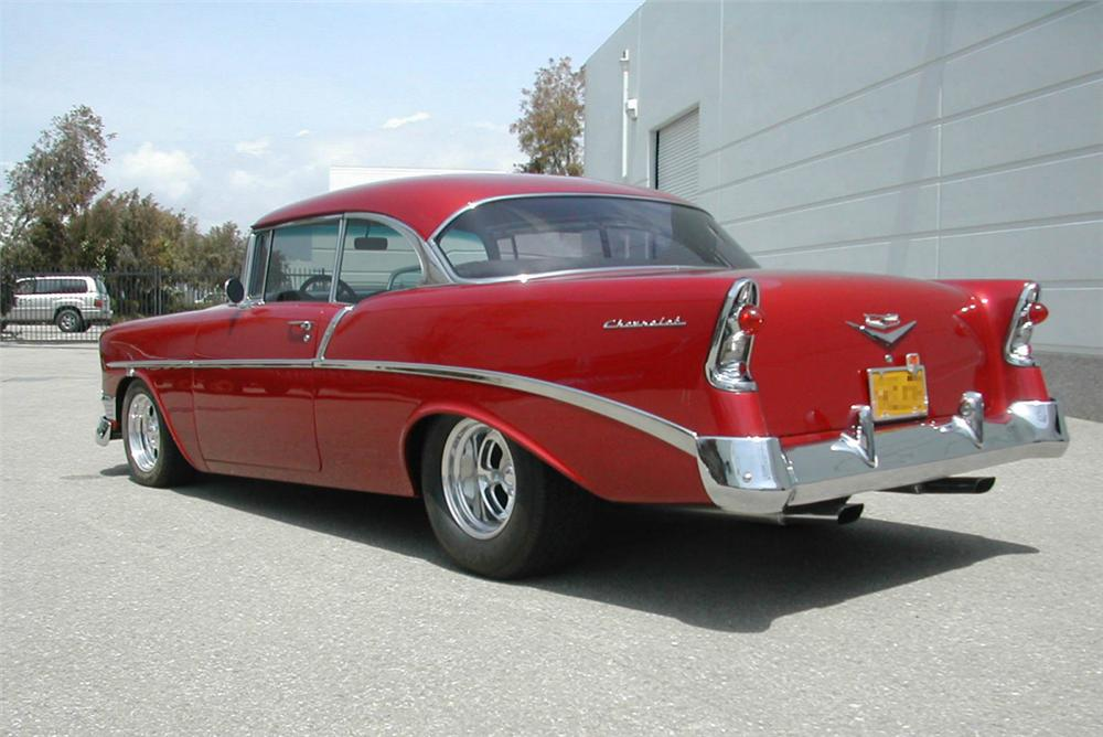 1956 CHEVROLET 210 COUPE - Rear 3/4 - 20360