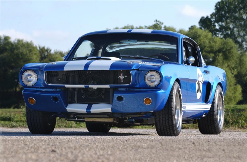 1965 SHELBY GT350 SR FASTBACK - Front 3/4 - 20362