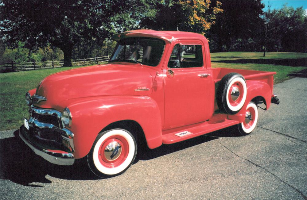 1954 CHEVROLET 3100 PICKUP - Front 3/4 - 20364