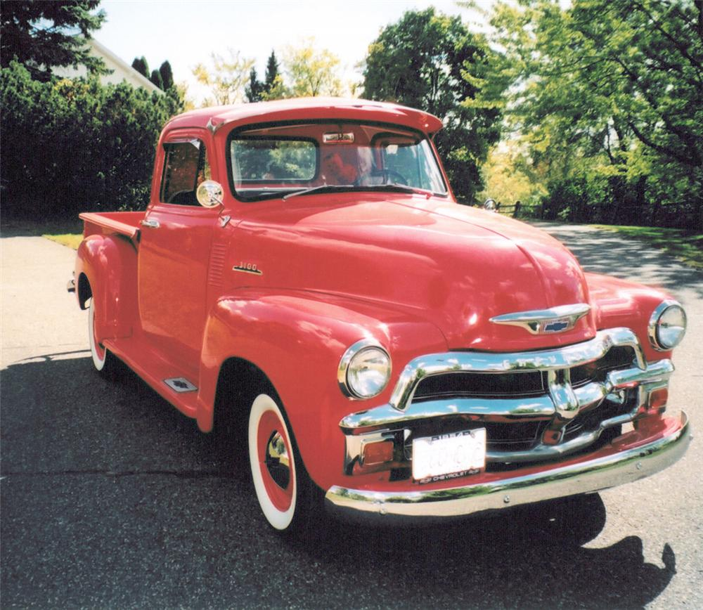 1954 CHEVROLET 3100 PICKUP - Side Profile - 20364