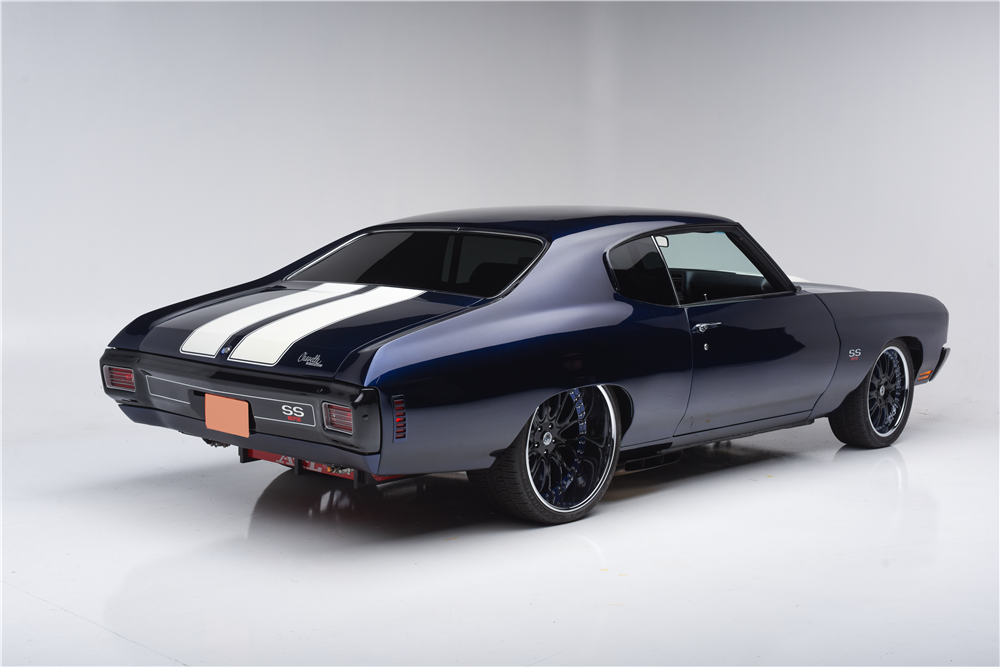 1970 Chevrolet Chevelle Ss Custom Coupe 203695