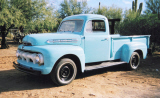 1951 FORD 1RD STEPSIDE PICKUP -  - 20370