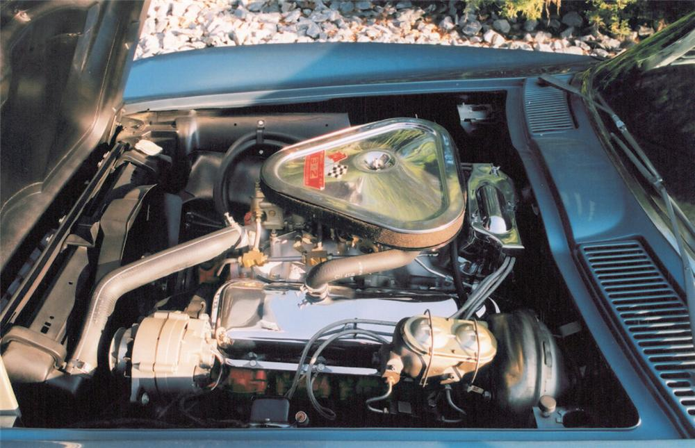 1967 CHEVROLET CORVETTE 427/435 CONVERTIBLE - Engine - 20371