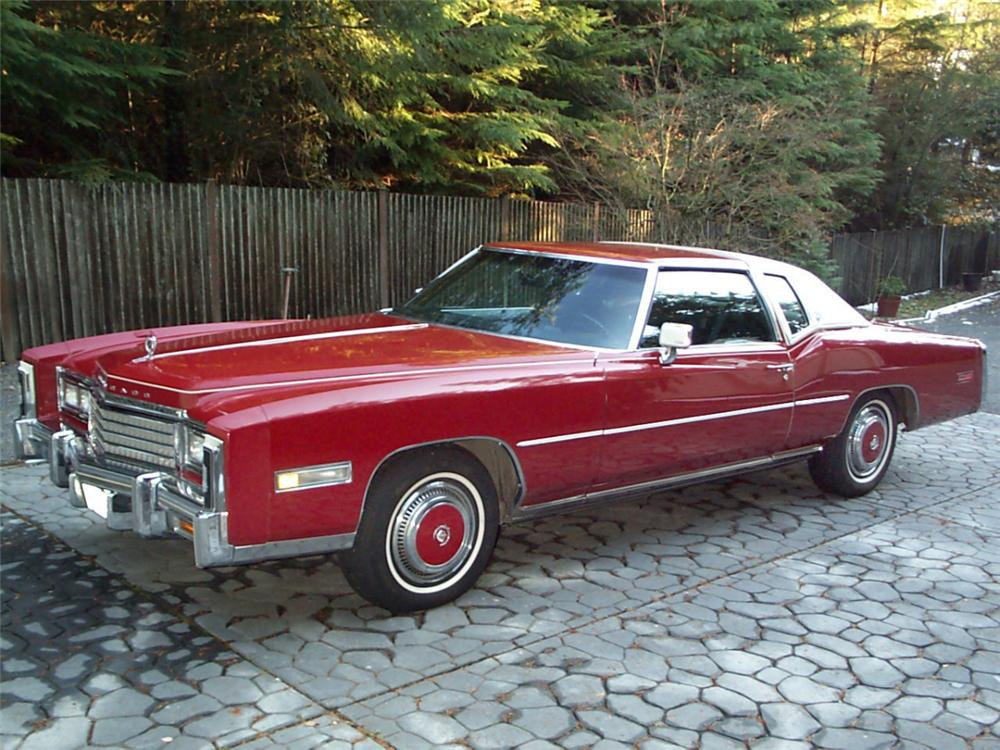 1978 CADILLAC ELDORADO 2 DOOR HARDTOP - Side Profile - 20382