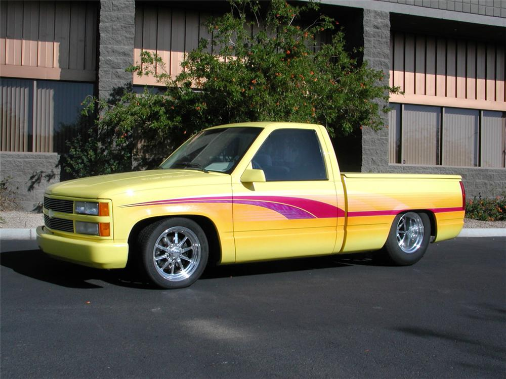 1992 CHEVROLET CUSTOM PICKUP - Front 3/4 - 20384